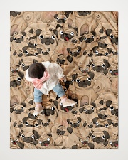 """Pug 21 Quilts and Blankets Quilt 40""""x50"""" - Baby aos-quilt-40x50-lifestyle-front-06"""