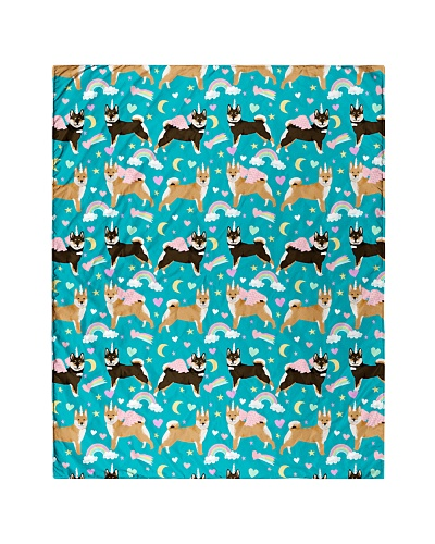 Shiba Inu 2 Quilts and Blankets