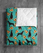 "Doberman Pinscher 2 Quilts and Blankets Quilt 40""x50"" - Baby aos-quilt-40x50-lifestyle-closeup-front-04"