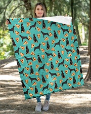 """Doberman Pinscher 2 Quilts and Blankets Quilt 40""""x50"""" - Baby aos-quilt-40x50-lifestyle-front-04"""