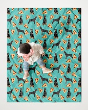 """Doberman Pinscher 2 Quilts and Blankets Quilt 40""""x50"""" - Baby aos-quilt-40x50-lifestyle-front-06"""