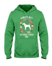 WORLD'S BEST PATTERDALE TERRIER MOM TSHIRT Hooded Sweatshirt thumbnail