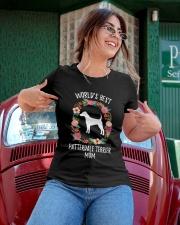 WORLD'S BEST PATTERDALE TERRIER MOM TSHIRT Ladies T-Shirt apparel-ladies-t-shirt-lifestyle-01