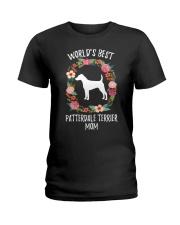WORLD'S BEST PATTERDALE TERRIER MOM TSHIRT Ladies T-Shirt front