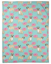 """Pug 24 Quilts and Blankets Small Fleece Blanket - 30"""" x 40"""" thumbnail"""