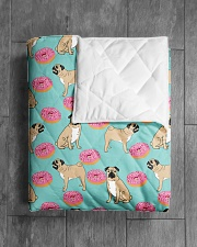 """Pug 24 Quilts and Blankets Quilt 40""""x50"""" - Baby aos-quilt-40x50-lifestyle-closeup-front-04"""
