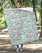 """Pug 24 Quilts and Blankets Quilt 40""""x50"""" - Baby aos-quilt-40x50-lifestyle-front-04"""