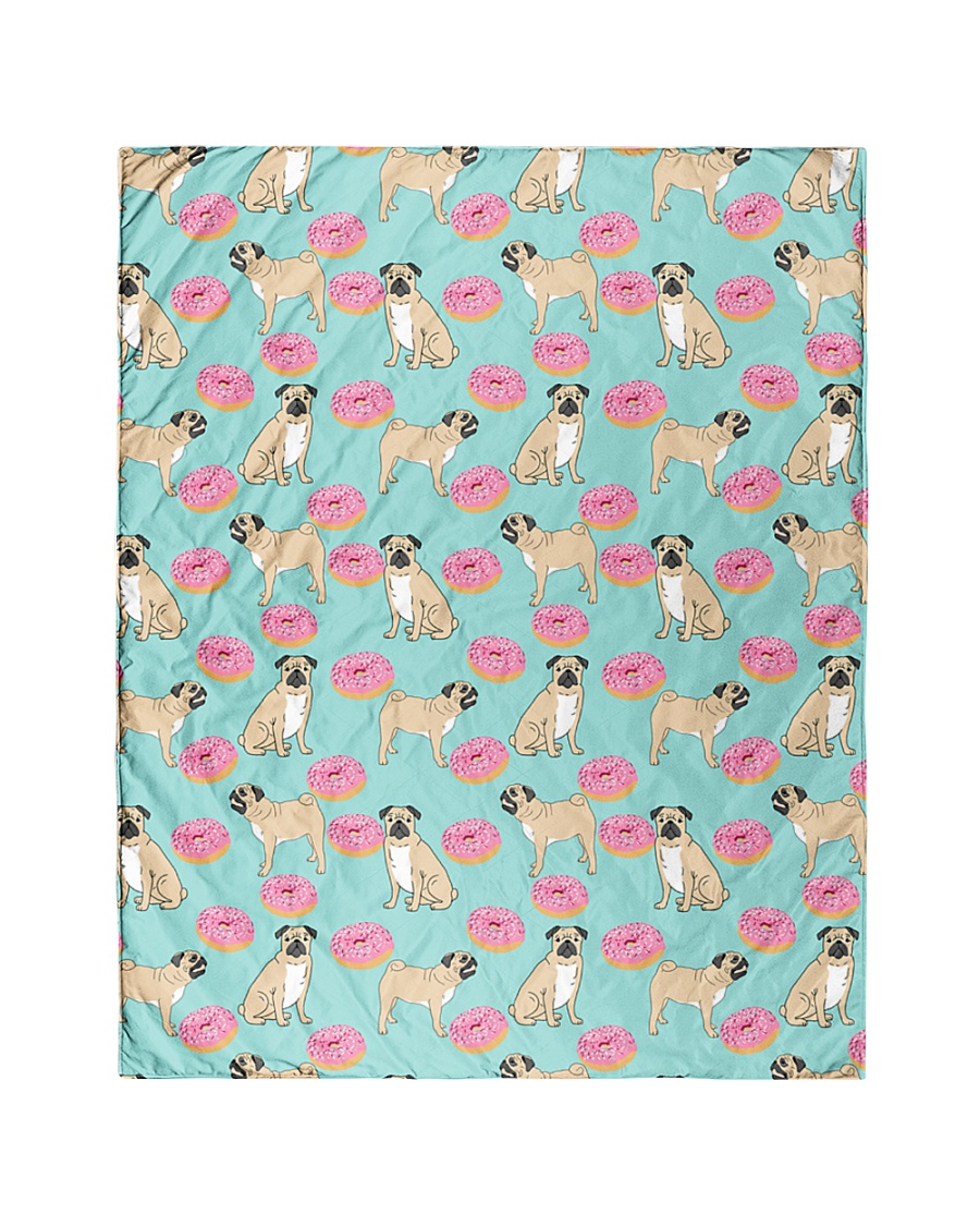 """Pug 24 Quilts and Blankets Quilt 40""""x50"""" - Baby"""