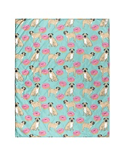 """Pug 24 Quilts and Blankets Quilt 40""""x50"""" - Baby front"""