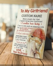 CV - GF0001 - GIFT FOR GIRLFRIEND 8x10 Easel-Back Gallery Wrapped Canvas aos-easel-back-canvas-pgw-8x10-lifestyle-front-04