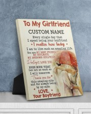 CV - GF0001 - GIFT FOR GIRLFRIEND 8x10 Easel-Back Gallery Wrapped Canvas aos-easel-back-canvas-pgw-8x10-lifestyle-front-06