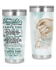 TUMBLER - DD0002 - GIFT FOR DAUGHTER FROM DAD 20oz Tumbler tile