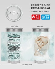 TUMBLER - DD0002 - GIFT FOR DAUGHTER FROM DAD 30oz Tumbler aos-30oz-tumbler-lifestyle-front-01