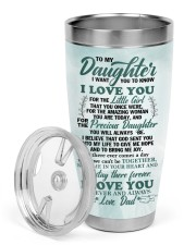 TUMBLER - DD0002 - GIFT FOR DAUGHTER FROM DAD 30oz Tumbler aos-30oz-tumbler-lifestyle-front-02