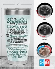 TUMBLER - DD0002 - GIFT FOR DAUGHTER FROM DAD 30oz Tumbler aos-30oz-tumbler-lifestyle-front-13