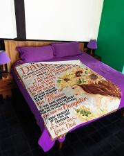 "DD021  Large Fleece Blanket - 60"" x 80"" aos-coral-fleece-blanket-60x80-lifestyle-front-01"