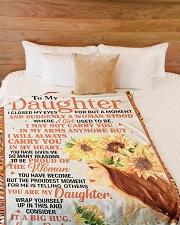 "DD021  Large Fleece Blanket - 60"" x 80"" aos-coral-fleece-blanket-60x80-lifestyle-front-02"