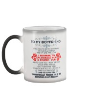 TO MY BOYFRIEND-I TAKE YOU TO BE MY BEST FRIEND Color Changing Mug color-changing-left