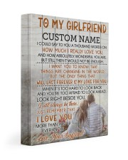 CV - GF0005 - GIFT FOR GIRLFRIEND Gallery Wrapped Canvas Prints tile
