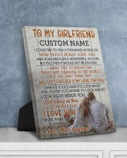 CV - GF0005 - GIFT FOR GIRLFRIEND 8x10 Easel-Back Gallery Wrapped Canvas aos-easel-back-canvas-pgw-8x10-lifestyle-front-06