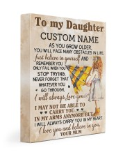 CV - DU0003 - GIFT FOR DAUGHTER FROM MUM Gallery Wrapped Canvas Prints tile