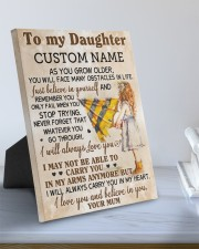 CV - DU0003 - GIFT FOR DAUGHTER FROM MUM 8x10 Easel-Back Gallery Wrapped Canvas aos-easel-back-canvas-pgw-8x10-lifestyle-front-01