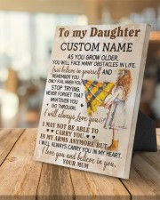 CV - DU0003 - GIFT FOR DAUGHTER FROM MUM 8x10 Easel-Back Gallery Wrapped Canvas aos-easel-back-canvas-pgw-8x10-lifestyle-front-04