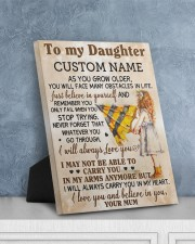 CV - DU0003 - GIFT FOR DAUGHTER FROM MUM 8x10 Easel-Back Gallery Wrapped Canvas aos-easel-back-canvas-pgw-8x10-lifestyle-front-06