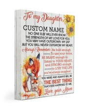CV - DU0005 - GIFT FOR DAUGHTER FROM MUM Gallery Wrapped Canvas Prints tile