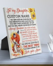 CV - DU0005 - GIFT FOR DAUGHTER FROM MUM 8x10 Easel-Back Gallery Wrapped Canvas aos-easel-back-canvas-pgw-8x10-lifestyle-front-01