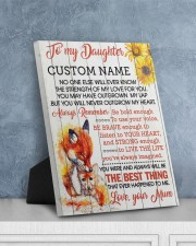 CV - DU0005 - GIFT FOR DAUGHTER FROM MUM 8x10 Easel-Back Gallery Wrapped Canvas aos-easel-back-canvas-pgw-8x10-lifestyle-front-06