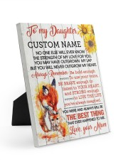 CV - DU0005 - GIFT FOR DAUGHTER FROM MUM 8x10 Easel-Back Gallery Wrapped Canvas front