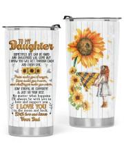 TUMBLER - DD0004 - GIFT FOR DAUGHTER FROM DAD Glitter Tumbler tile