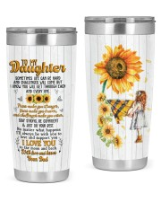 TUMBLER - DD0004 - GIFT FOR DAUGHTER FROM DAD 20oz Tumbler tile