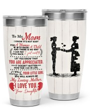 TUMBLER - MD0001 - GIFT FOR MOM FROM DAUGHTER 30oz Tumbler front