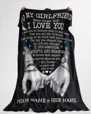 """BL - GF0002 - GIFT FOR GIRLFRIEND Large Fleece Blanket - 60"""" x 80"""" aos-coral-fleece-blanket-60x80-lifestyle-front-10"""