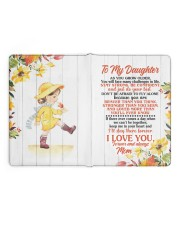 NOTEBOOK - DM0002 - GIFT FOR DAUGHTER FROM MOM Large - Leather Notebook full