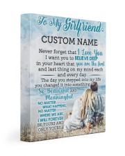 CV - GF0003 - GIFT FOR GIRLFRIEND Gallery Wrapped Canvas Prints tile