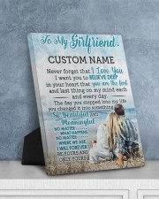 CV - GF0003 - GIFT FOR GIRLFRIEND 8x10 Easel-Back Gallery Wrapped Canvas aos-easel-back-canvas-pgw-8x10-lifestyle-front-06