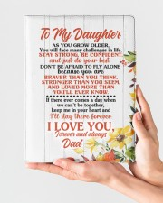 NOTEBOOK - DD0002 - GIFT FOR DAUGHTER FROM DAD Large - Leather Notebook aos-large-leather-notebook-lifestyle-front-02