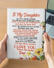 NOTEBOOK - DD0002 - GIFT FOR DAUGHTER FROM DAD Large - Leather Notebook aos-large-leather-notebook-lifestyle-front-05