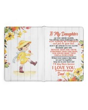 NOTEBOOK - DD0002 - GIFT FOR DAUGHTER FROM DAD Large - Leather Notebook full