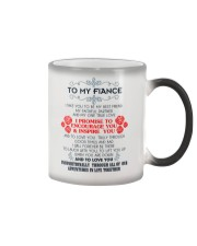 TO MY FIANCE-I TAKE YOU TO BE MY BEST FRIEND Color Changing Mug color-changing-right