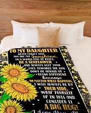 "DM001  Large Fleece Blanket - 60"" x 80"" aos-coral-fleece-blanket-60x80-lifestyle-front-02"