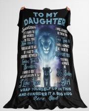 "DD001 Large Fleece Blanket - 60"" x 80"" aos-coral-fleece-blanket-60x80-lifestyle-front-10"