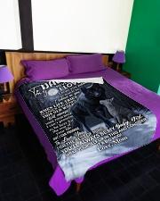 "DM002 Large Fleece Blanket - 60"" x 80"" aos-coral-fleece-blanket-60x80-lifestyle-front-01"
