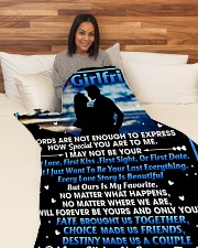 "GIFT FOR GIRLFRIEND Large Fleece Blanket - 60"" x 80"" aos-coral-fleece-blanket-60x80-lifestyle-front-05"