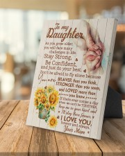 CV - DU0001 - GIFT FOR DAUGHTER FROM MUM 8x10 Easel-Back Gallery Wrapped Canvas aos-easel-back-canvas-pgw-8x10-lifestyle-front-04