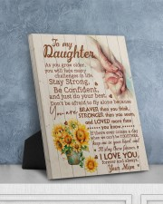 CV - DU0001 - GIFT FOR DAUGHTER FROM MUM 8x10 Easel-Back Gallery Wrapped Canvas aos-easel-back-canvas-pgw-8x10-lifestyle-front-06