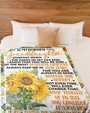 "GD002  Large Fleece Blanket - 60"" x 80"" aos-coral-fleece-blanket-60x80-lifestyle-front-02"